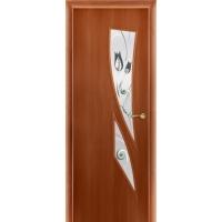 Дверь с художественным фьюзингом Дверона Астра