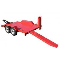 Прицеп низкорамный для перевозки строительной техники ПромАгроПрицеп 9835-20