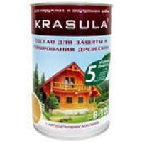 Защитно - тонирующий состав KRASULA для дерева
