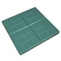 Травмобезопасная резиновая плитка «Сетка» 350*350(толщина 30мм)