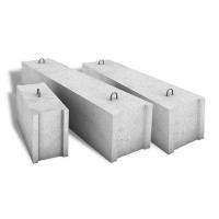 Фундаментные бетонные блоки ФБС