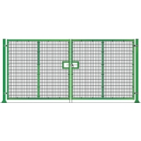 Ворота распашные серии PROM высотой 2 метра шириной 3 метров FENSYS (ФЕНСИС)