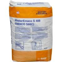 МастерЭмако S488. Безусадочная смесь, содержащая фибру.  Ремонт бетона