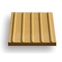 Тактильная плитка бетонная для помещений продольные рифы 50х50х5