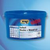 Краска интерьерная Select Decke Wand стойкая к истеранию Zero