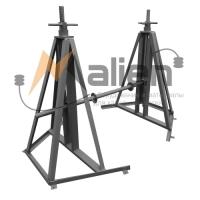Домкрат кабельный винтовой ДК-5ВП, профессиональный, до 5000 кг