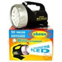 Аккумуляторный фонарь Облик 9419