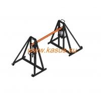 Домкрат кабельный для подъёма/размотки кабельных барабанов KasusUniversal ДГ 2