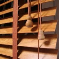 Жалюзи горизонтальные (деревянные, бамбуковые) 25 мм