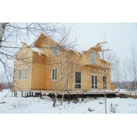 Дом из СИП панелей с утеплителем ПЕНОПОЛИУРЕТАН