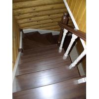 Лестница из лиственницы. 2015 год