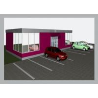 Быстросборный мини-магазин Кампанель Мини магазин 128 м2