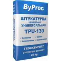 Штукатурка универсальная цементная ByProc