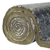 Изоляция из базальтовой ваты PAROC Pro Wired Mat 100 AL1