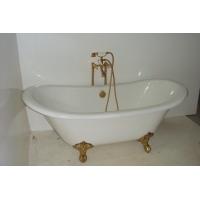 Чугунная ванна 170x76. Goldman Lux 21V