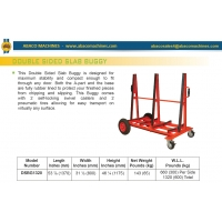 Двухсторонняя тележка Abacomachines DOUBLE SIDED SLAB BUGGY DSBG1320