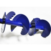 Ручной земляной бур диаметром 110 мм ПИТЕР-Бур