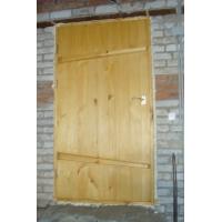 двери банные  деревянные