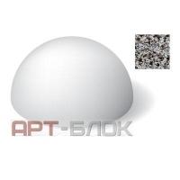 Полусфера бетонная ПСФ-1 (Офактуренная)