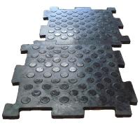 Резиновая плитка для промышленного пола и тротуара Резиплит Вулканизированное резиновое покрытие