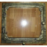 Дверки в камин со стеклом PSteklo