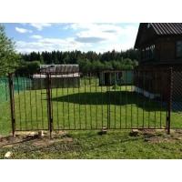 Садовые металлические ворота и калитки от производителя