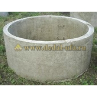 Кольцо бетонное 20.9 с пазом Дедал