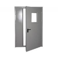Дверь противопожарная 2100х1300 Кондр двустворчатая