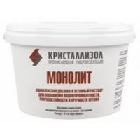 Кристаллизол Монолит – гидроизоляционная и морозостойкая добавка