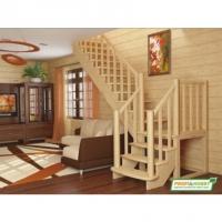 Лестница из дерева  К-022М