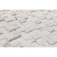 Мрамор Elegant Stone Мозаика Cubic Blanc