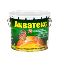 Акватекс деревозащитное средство 3 л