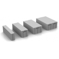 Газобетонный блок стеновой 625*250*250 мм