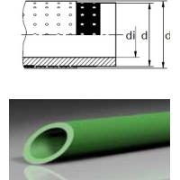 Полипропиленовая труба green pipe aquatherm fusiothermstabi MF M