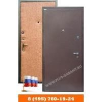 Входные металлические двери Гарант Плюс металлические двери с отделкой порошковое напыление-винилискожа