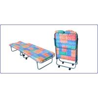 Раскладная кровать с холконовым матрасом Ярославский завод кемпинговой мебели КТР1П