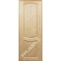 Двери межкомнатные из массива хвои  Наполеон