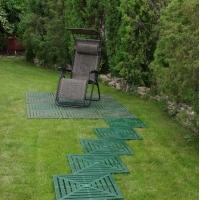 Садовая дорожка из пластиковых плиток ПластДор