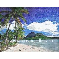 """Мозаичное панно  """"Таинственный остров"""""""
