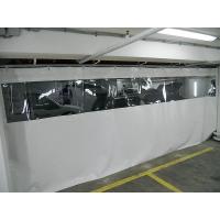 Штора для автомойки 2х5м с прозрачной вставкой