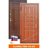 Недорогие входные двери Гарант Плюс с отделкой мдф-мдф