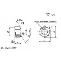 Гайки для фланцевых соединений по ОСТ 26-2041-96