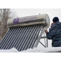 Солнечный водонагреватель «Универсал» АНДИ Групп Система под давлением круглогодичной эксплуатации СР-II-15-135