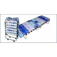 раскладные кровати Ярославский завод кемпинговой мебели Ортопедическая раскладная кровать с ватным матрасом КТР1ЛМ