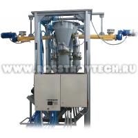 Мини бетонный завод (узел) НПО РОССТРОЙТЕХ производительностью от 10м3 в час