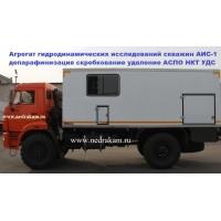 Автолаборатория АИС-1 агрегат исследования скважин ЛС-6 КАМАЗ-