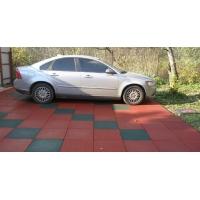 Резиновая плитка 40мм покрытие для гаража  РП-Classic 40