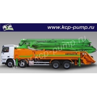 Автобетононасос KCP Heavy Industries CO 45ZX170 на шасси MERCEDES BENZ 4141
