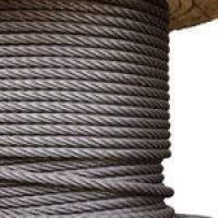 Тросы канаты цепи стальные  оцинкованные