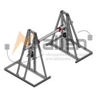 Домкрат кабельный гидравлический разборный ДК-5ГМПР, г/п до 5000 Малиен ДК-5ГМПР